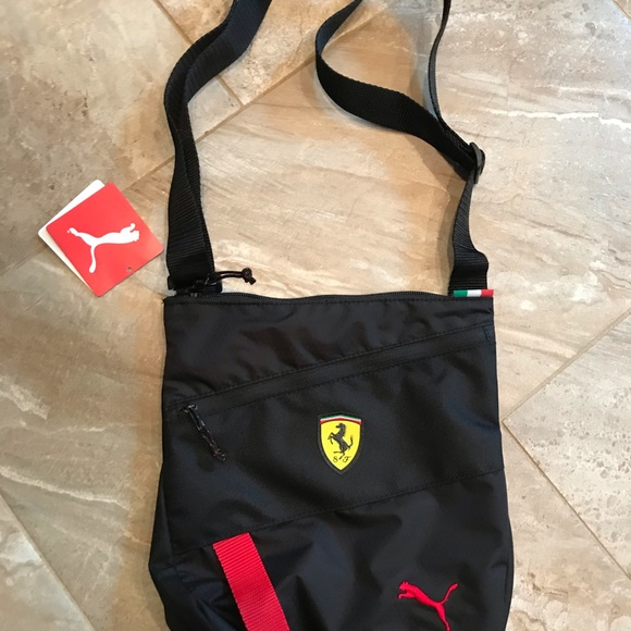 831aca94ffa5 Deadstock FERRARRI Shoulder Bag. NWT. Puma